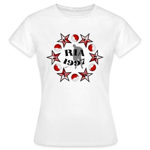 supcom sterne spieler gross - Frauen T-Shirt