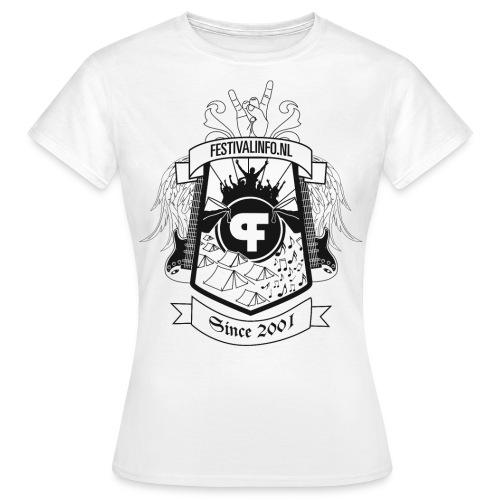tshirt schild zwart def - Vrouwen T-shirt