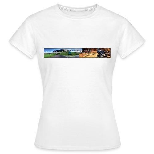 bannerkontur4k - Frauen T-Shirt