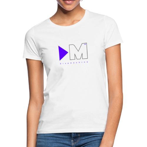 Dropmachine Logo Royalblue - Frauen T-Shirt