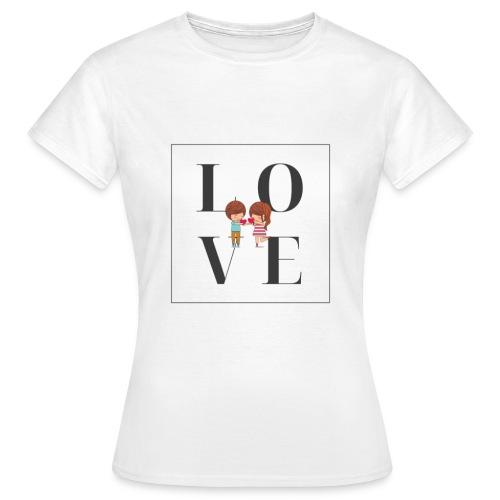 Love - Maglietta da donna