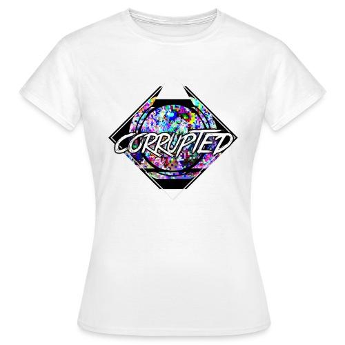 Corrupted Logo - Frauen T-Shirt