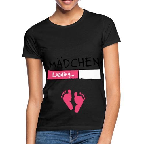 Mädchen loading // Schwangerschaft T-Shirt - Frauen T-Shirt