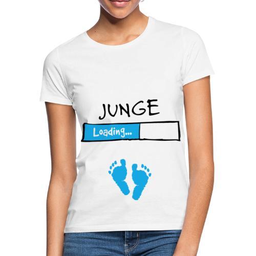 Junge loading // Schwangerschaft T-Shirt - Frauen T-Shirt