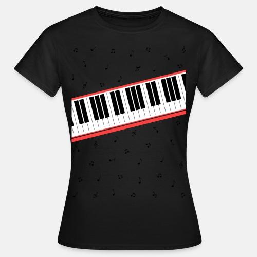 Beat It - piano and sheet music - Women's T-Shirt