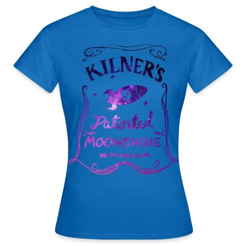 Kilner's Patented Moonshine (Stars Outline) - Women's T-Shirt