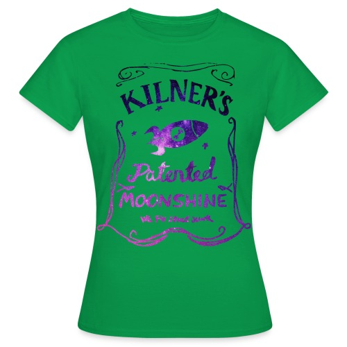 Kilner's Patented Moonshine (Stars Outline) - Women's T-Shirt