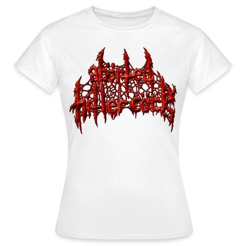 AxHxCx Logo in Haematoma Red - Women's T-Shirt