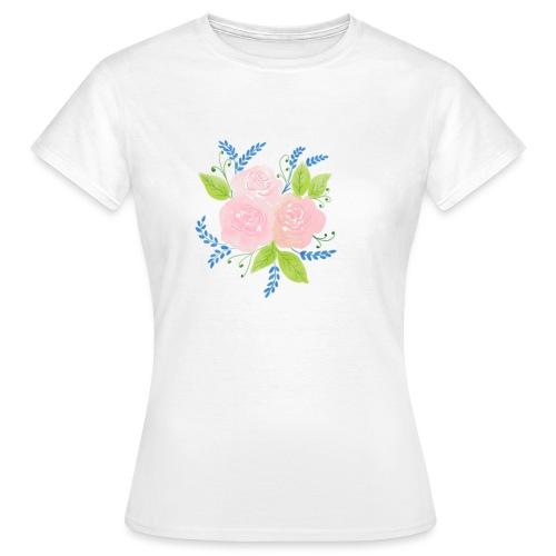 Rosen-Duft - Frauen T-Shirt