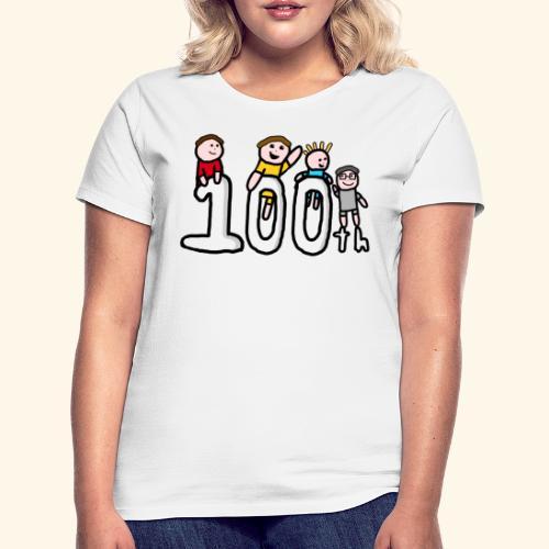 100th Video - Women's T-Shirt