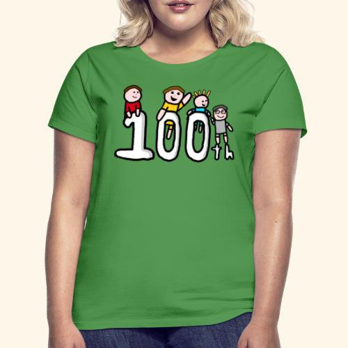 100th Video - Women's T-Shirt