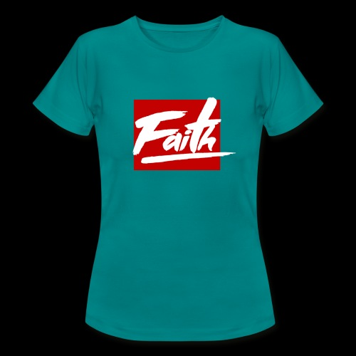 Faith Red - Camiseta mujer
