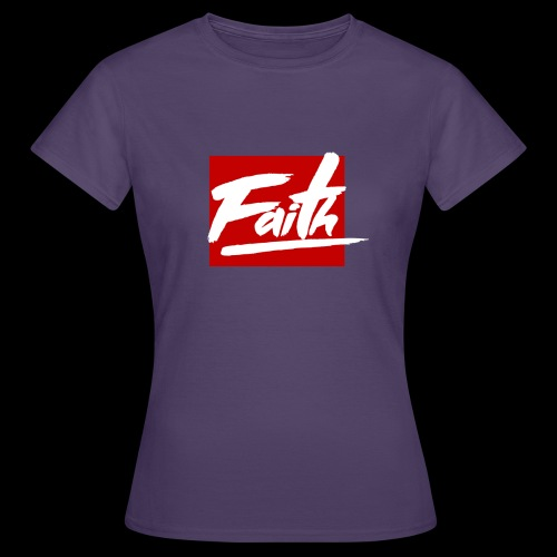 Faith Red - Camiseta mujer