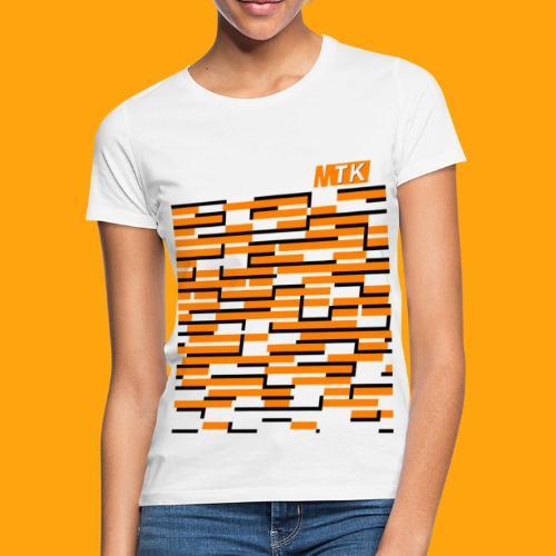 Orange Cubes - Frauen T-Shirt