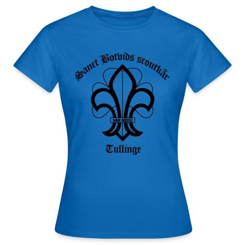 Sanct botvids scoutkår - T-shirt dam