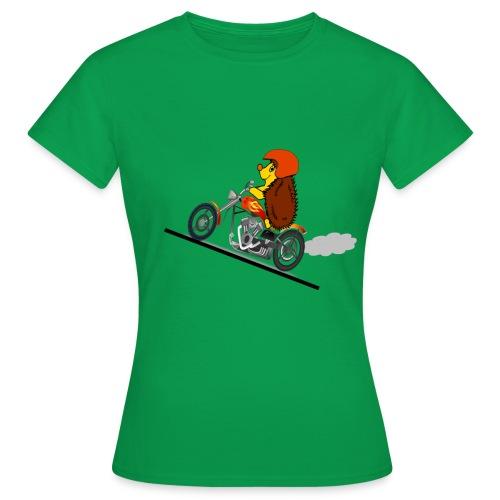 hérisson biker - T-shirt Femme