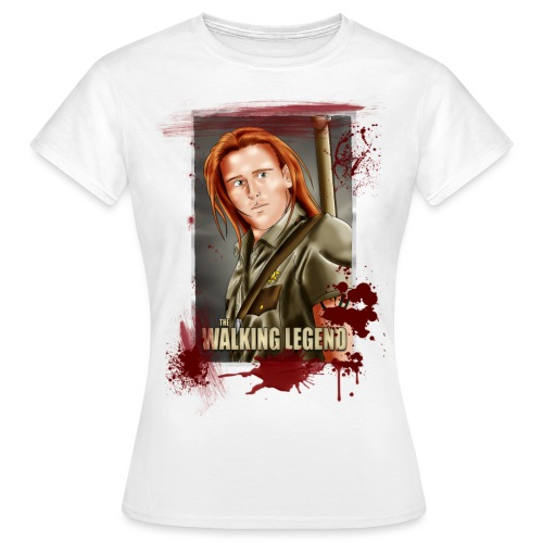 Walking Legend Polaroid - Women's T-Shirt