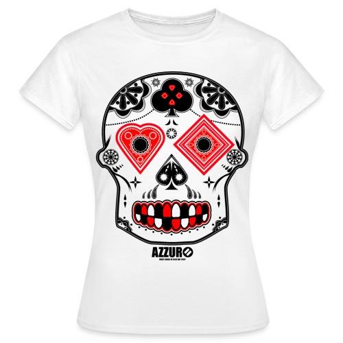 Candy Skull - Women's T-Shirt