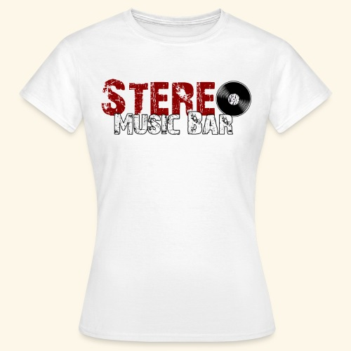 Stereo-Logo-Durchsichtig- - Frauen T-Shirt