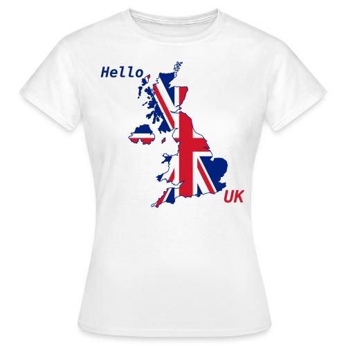 hello UK Kollektion - Frauen T-Shirt