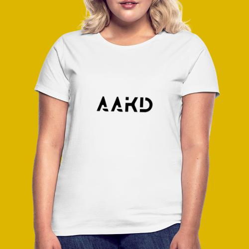 AAKD Logo in Schwarz - Frauen T-Shirt