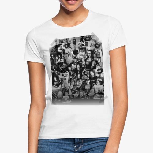 Ciuryburie Collagé - Frauen T-Shirt