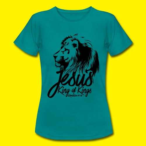 JESUS - KING OF KINGS - Revelations 19:16 - LION - Women's T-Shirt