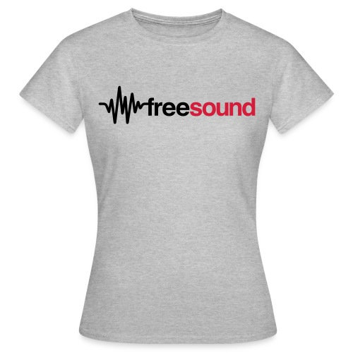 freesound logo tshirt - Women's T-Shirt