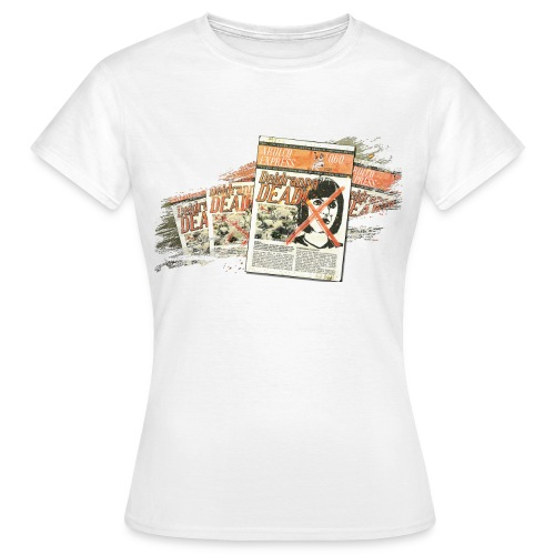 ja bia motive 03 zeitung arulco express - Frauen T-Shirt