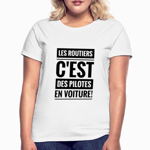 Les Routiers - T-shirt Femme