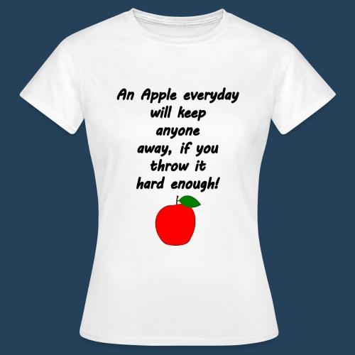 Apple Doctor - Frauen T-Shirt