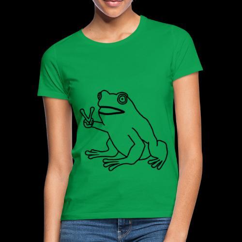 Funny Animal Frog Frosch - Frauen T-Shirt