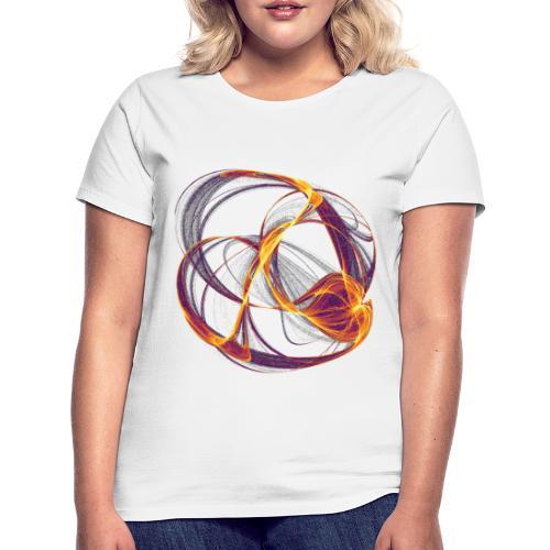 Aquarell Kunstgrafik Gemälde Bild 13997 inferno - Frauen T-Shirt