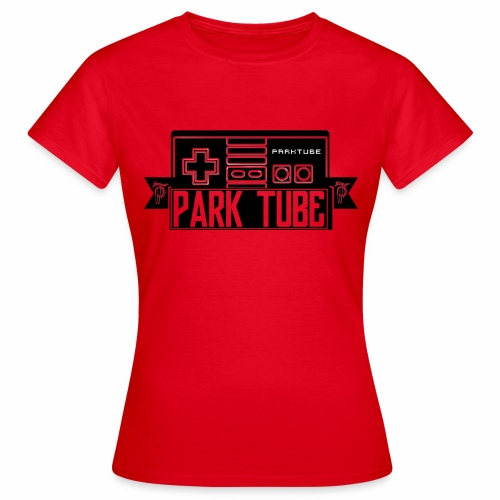 ParkTube Gaming Logo schwarz - Frauen T-Shirt