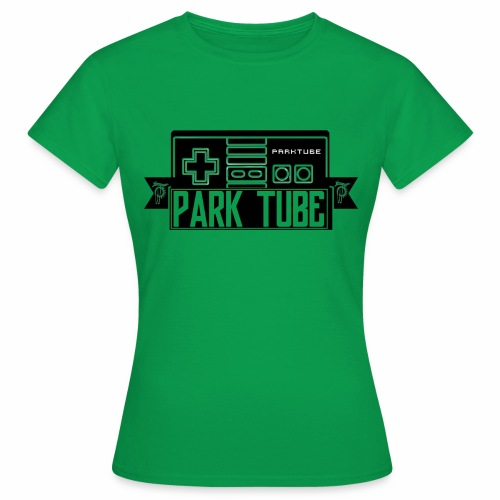 ParkTube Gaming Logo schwarz - Frauen T-Shirt