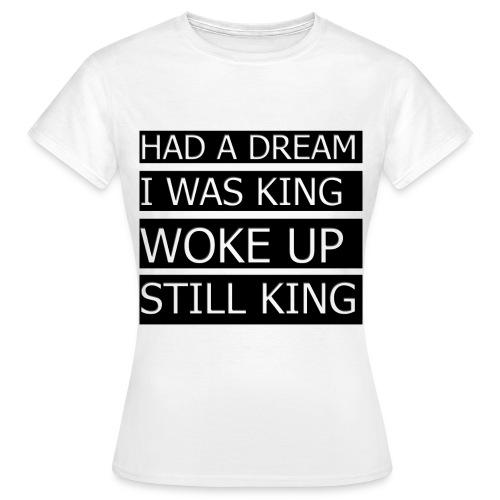 T-Shirt med citat - Dame-T-shirt