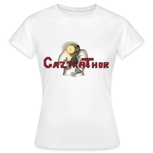 CaztraThor logga png - T-shirt dam