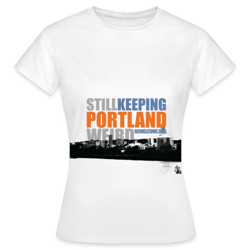 hr_portland HIGH RES - Women's T-Shirt