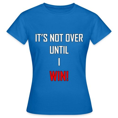 win 2 - Women's T-Shirt