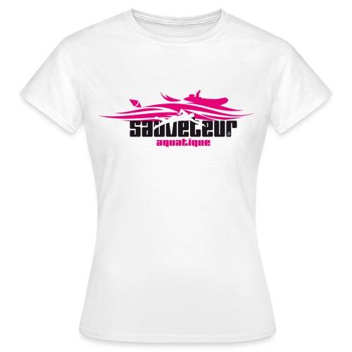 sauveteur aquatique - T-shirt Femme