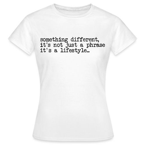 typewriter - Women's T-Shirt