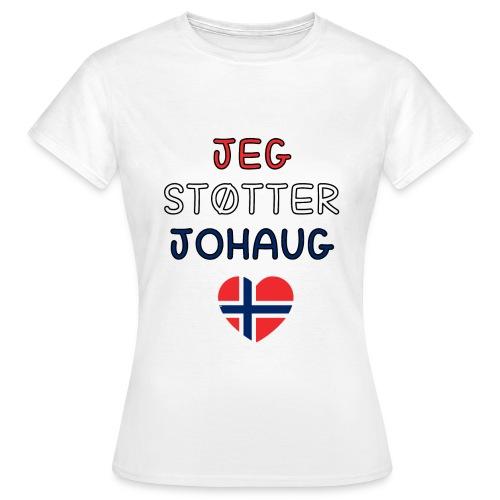 johaug - T-skjorte for kvinner