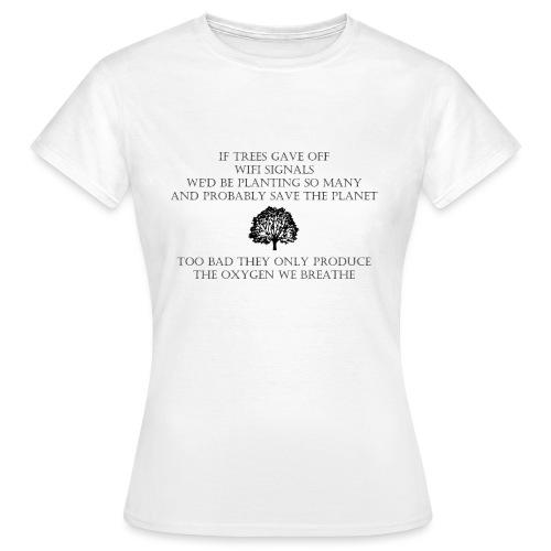 Wifi Tree - Vrouwen T-shirt