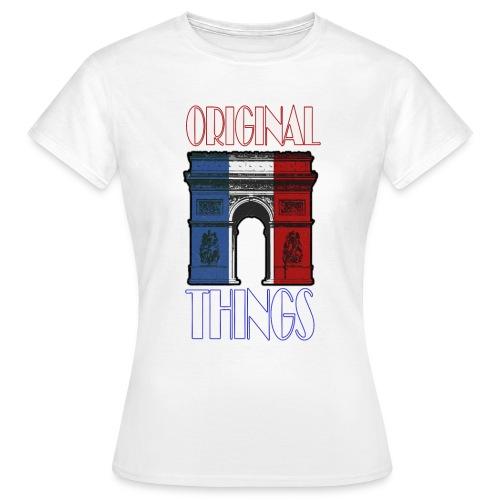 ORIGINAL THINGS - T-shirt Femme