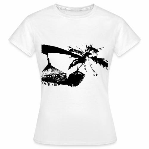Chillout - Palme - Frauen T-Shirt