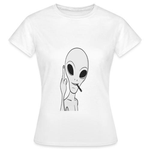 stoner alien - T-shirt Femme