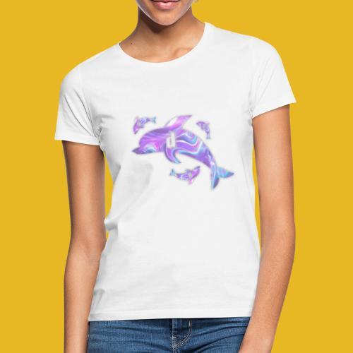Delph Vaporwave Logo - Frauen T-Shirt
