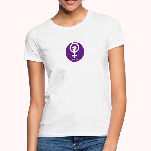 Logo Frauenstreik - Logo de la Grève feministe - Frauen T-Shirt
