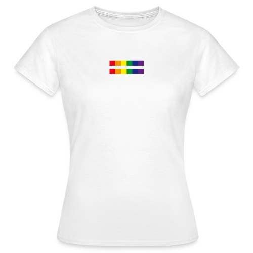 rainbow rectangle - Frauen T-Shirt