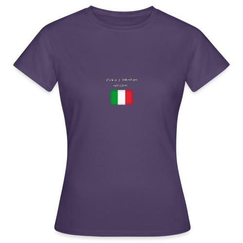 Włosko-polska - Koszulka damska